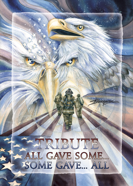 Eagles (Bald) / Tribute - All Gave Some....Some Gave All - Magnet