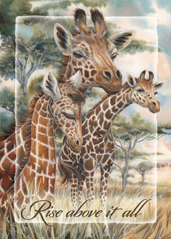 Giraffes / Rise Above it All - Magnet
