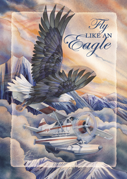 Eagles (Bald) / Fly Like An Eagle - Magnet