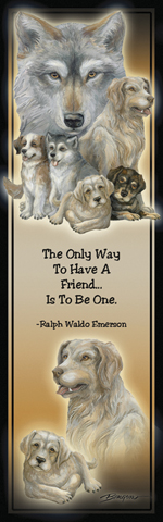 Dogs / Companions - Bookmark