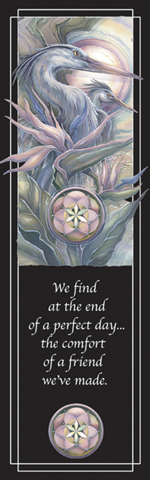 Herons / Held Within A Circle of Grace - Bookmark