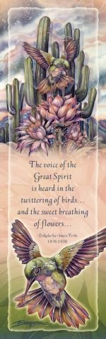 Hummingbirds / Jewel Of The Desert - Bookmark