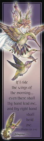 Faeries / Amid Hummers Night Dream... There's Magic On The Wind - Bookmark