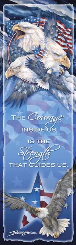 Eagles (Patriotic) / Allegiance - Bookmark