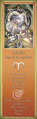 Zodiac Series / Aries - Bookmark