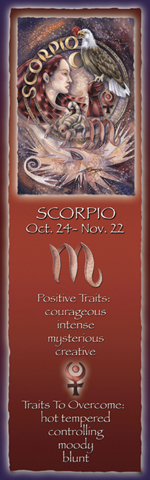 Zodiac Series / Scorpio - Bookmark