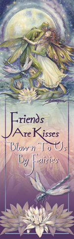 Faeries / There Is Always A Reason To Dance - Bookmark