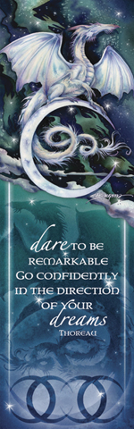 Mythological Creatures (Dragons) / Touch The Moon, Reach The Stars - Bookmark