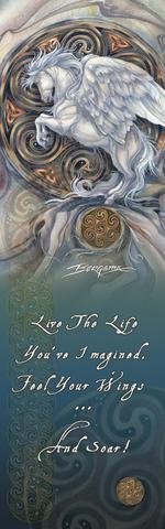 Mythological Creatures (Pegasus) / May Your Dreams Take Flight - Bookmark