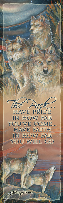 Wolves / The Pack... - Bookmark
