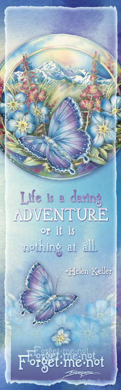 Butterflies / Life Is A Daring Adventure - Bookmark