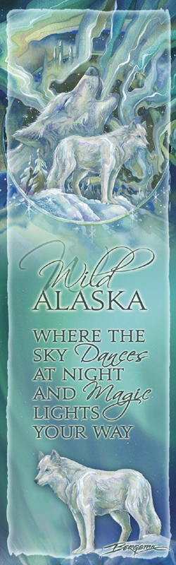 Wolves / Wild Alaska - Bookmark