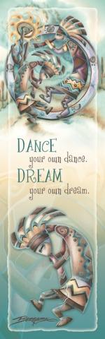Happy Dance - Bookmark