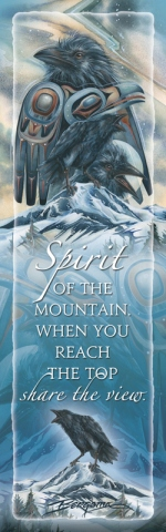Raven /Spirit Of The Mountain - Bookmark