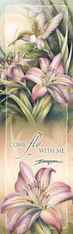 Hummingbirds / Come Fly With Me - Bookmark