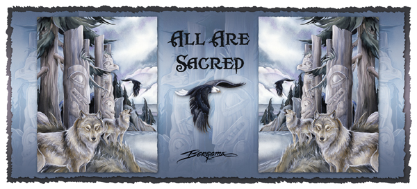 All Are Sacred - Mug