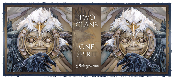Two Clans, One Spirit - Mug