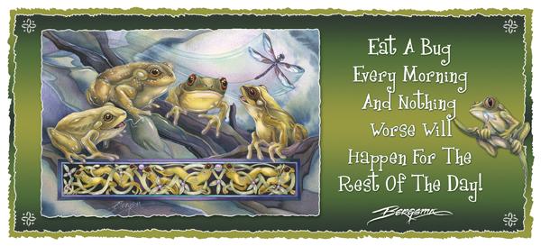 Knotty Frogs - Mug