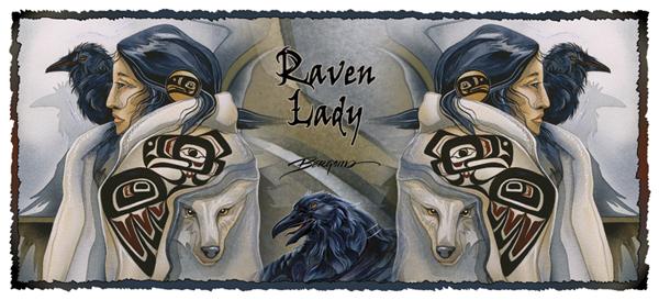 Raven Lady - Mug