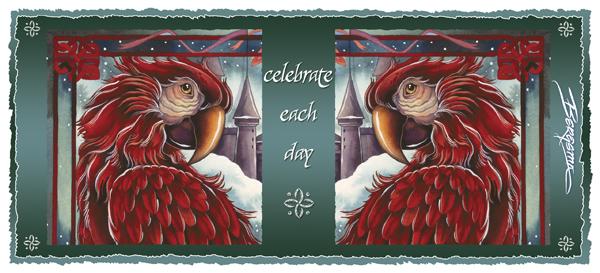 Parrots / Celebrate Each Day - Mug