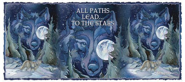 All Paths Lead To The Stars - Mug
