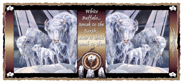 White Buffalo - Mug