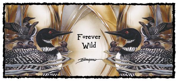 Loons / Forever Wild - Mug