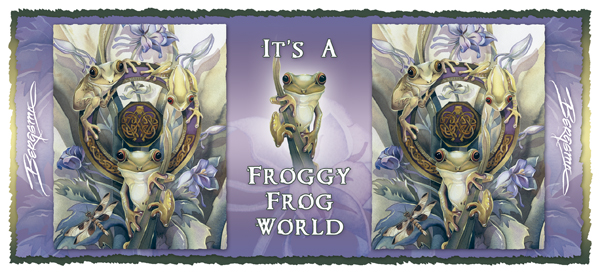It's A Froggy Frog World - Mug