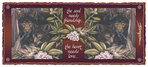 The Heart Needs Friendship... - Mug