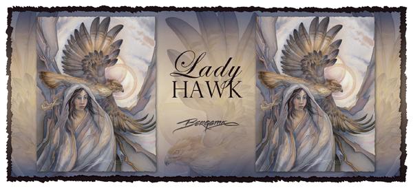 Lady Hawk - Mug