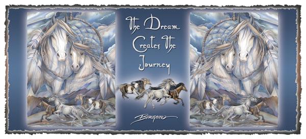 The Dream Creates The Journey - Mug