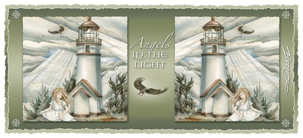 Angels In The Light - Mug