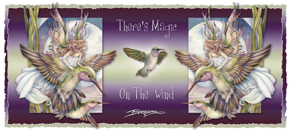 Amid Hummers Night Dream... There's Magic On The Wind - Mug