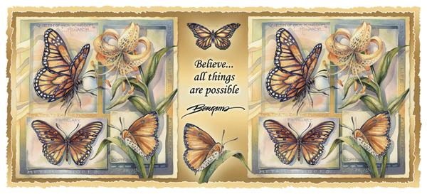 Don't Let Life Flutter-bye - Mug