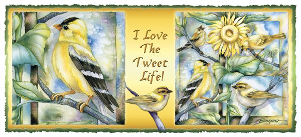 Misc. Small Birds / We Love The Tweet Life - Mug