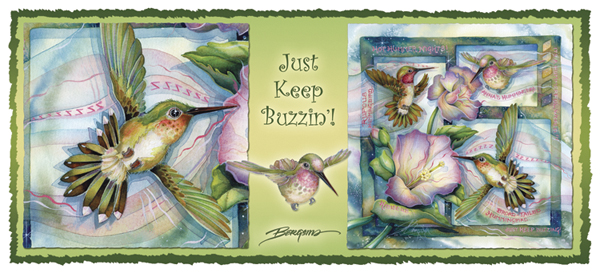Just Keep Buzzing - Mug