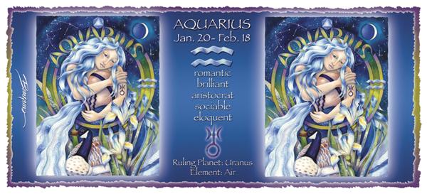 Aquarius - Mug