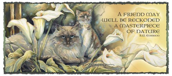 Cats / Cat-a-lilies - Mug