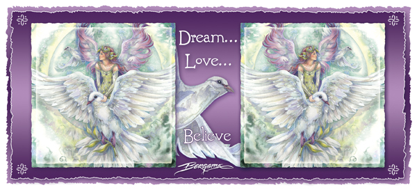 Dream... Love... Believe - Mug