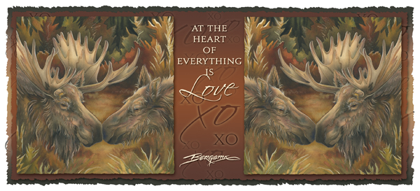 At The Heart Of Everything Is Love - Mug