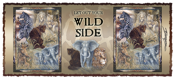Let Out Your Wild Side -  Mug