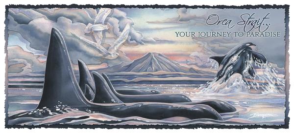 Orca Strait... - Mug