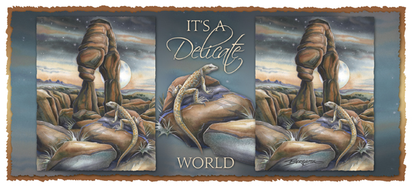 It's A Delicate World - Mug
