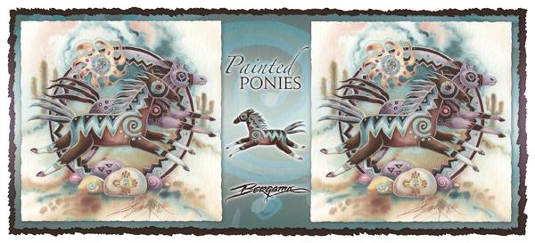 Painted Ponies - Mug