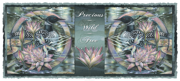 Loons / Precious...Wild...Free - Mug
