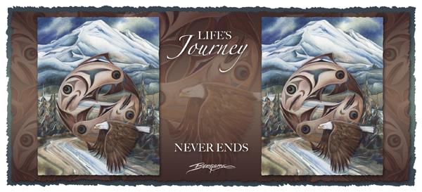 Life's Journey Never Ends - Mug