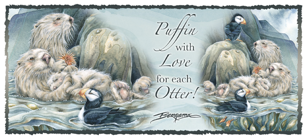 Puffins/Puffin Withn Love For Each Otter - Mug