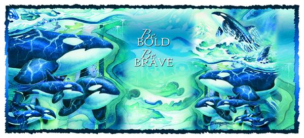 Be Bold, Be Brave - Mug