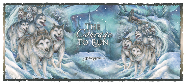 Courage to Run - Mug