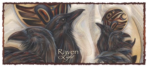 'Raven Light' Mug